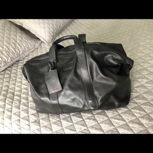 Tumi Bag black leather